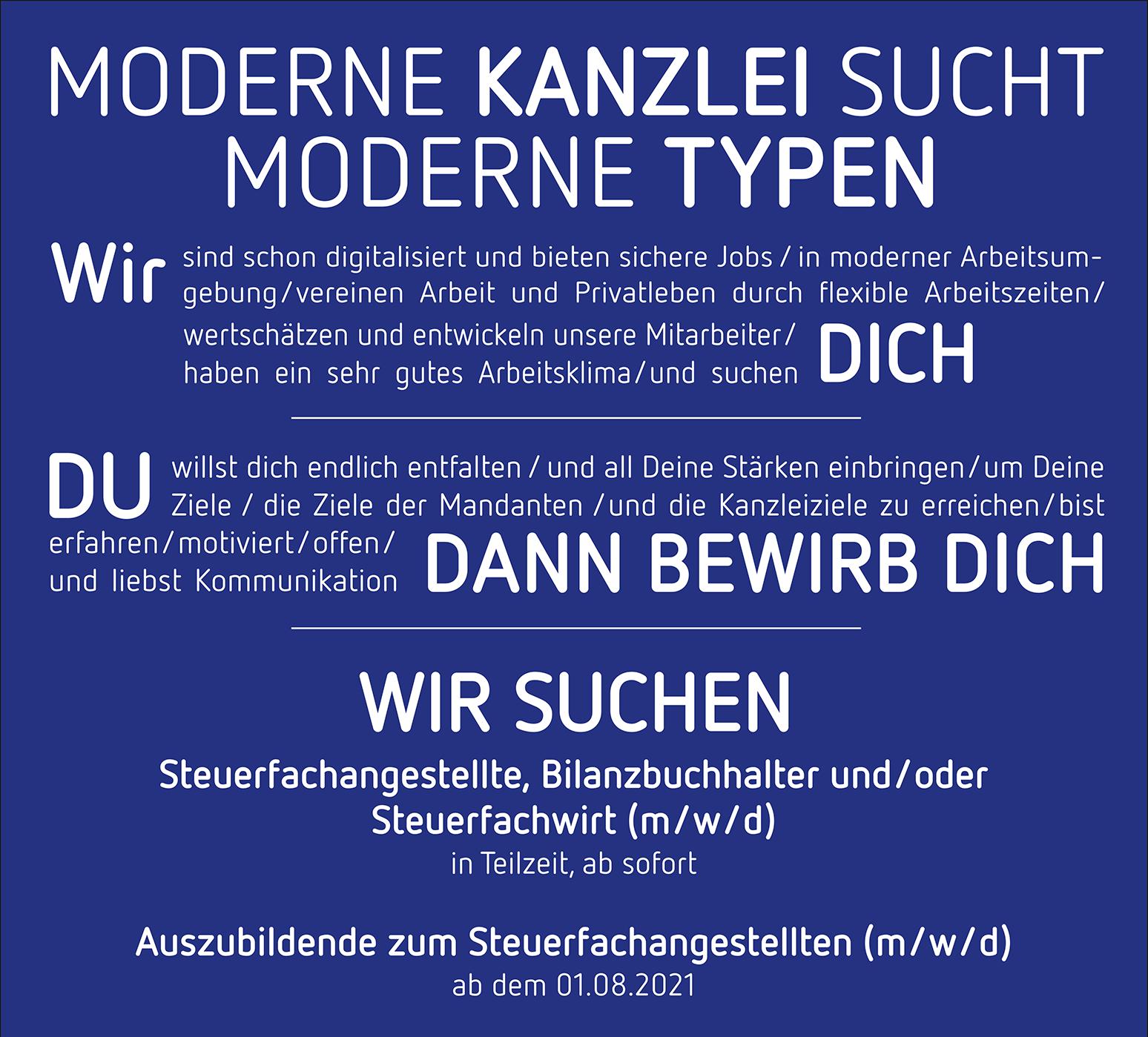 Stellenangebote bei Steuerberatung Claudia Seiffert in Dierdorf