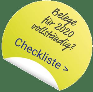 Link zur Checkliste Notwendige Belege zur Einkommensteuerberatung 2020